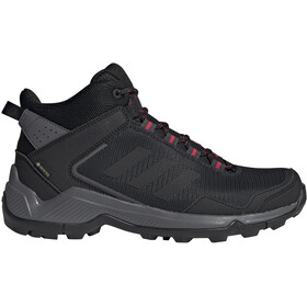 adidas TERREX Eastrail Mid Gore-Tex Hiking Shoes Women carbon/core black/active pink
